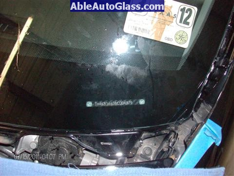 Acura RL 2005-2008 Windshield Replaced - Perfect VIN Alignment