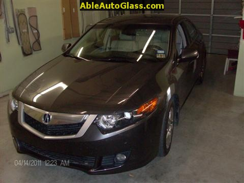 Acura TSX Windshield Replace Able Auto Glass In Houston TX - Acura windshield replacement