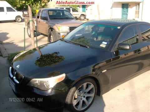 BMW 5451 2005 Windshield Replace Houston, TX-Front View