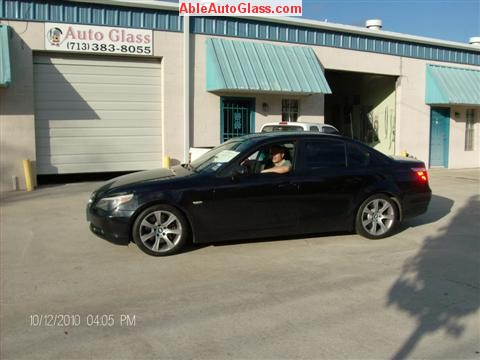 BMW 5451 2005 Windshield Replace Houston, TX-Ready for Delivery