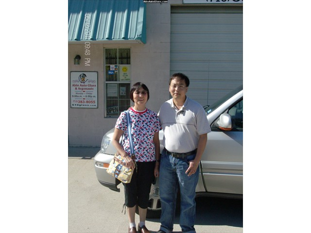 Buick Rainier 2004 Windshield Replacement - Dr Chan and Mom