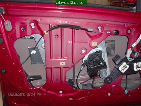 Cadillac CTS 2010 Front Door Replacement Full View at Inner Skin