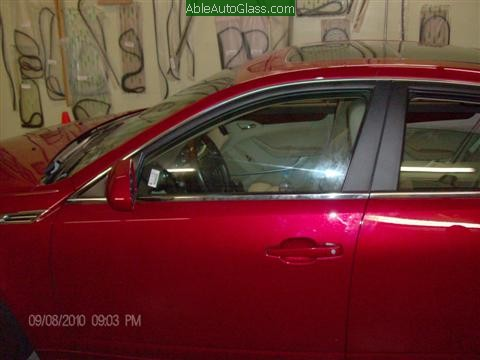 Cadillac CTS 2010 Front Door Replacement All Back Together
