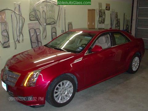 Cadillac CTS 2010 Front Door Replacement Side View
