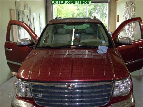 Chrysler Aspen 07-08 Windshield Replacement @ Able Auto Glass in Houston, TX