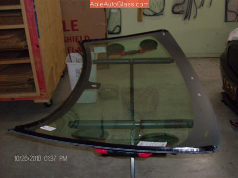 Dodge Charger 2006-2010 Windshield Replacement Adco Titan Pro 1 Applied to New Windshield