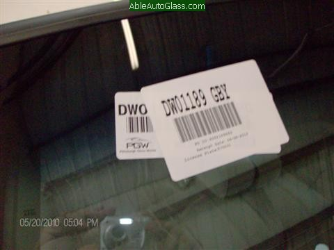 Ford Crown Victoria 1994 Windshield Replacement - DW01189GBY PGW USA