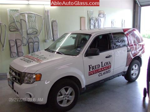 Ford Escape 2010 Fred Loya Windshield Replacement Ready to Install