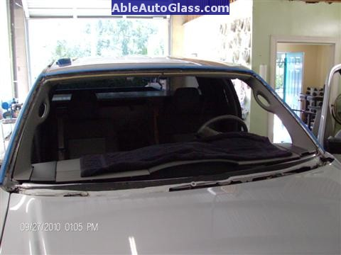 Ford F150 2005-2008 Standard Cab Windshield Repalcement - Frontal View.