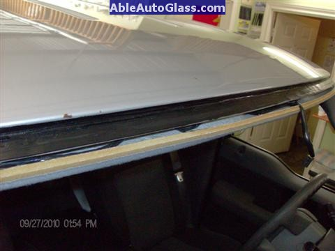 Ford F150 2005-2008 Standard Cab Windshield Repalcement - We Prime to Help Prevent Future Rust