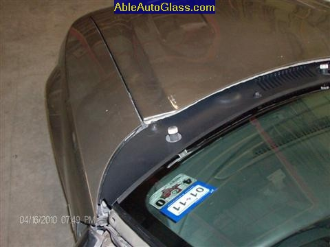 Ford Saleen Mustang Convertible Windshield Replace Able