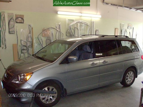 Honda-Odyssey-Back- Glass- Replacement Side View