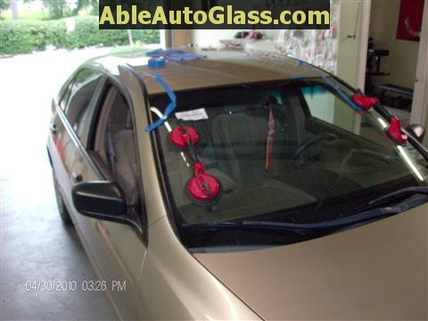 Honda Accord 2003-2007 Windshield Replace - All Back Together