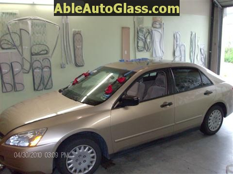 Honda Accord 2003-2007 Windshield Replace - Installed with 2 People