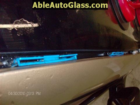 Honda Accord 2003-2007 Windshield Replace - Nice and Clean Bead