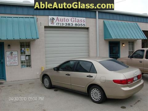 Honda Accord 2003-2007 Windshield Replace - Ready for Delivery