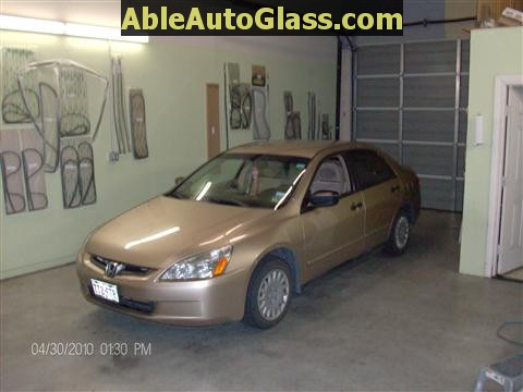 Honda Accord 2003-2007 Windshield Replace - Ready to Replace