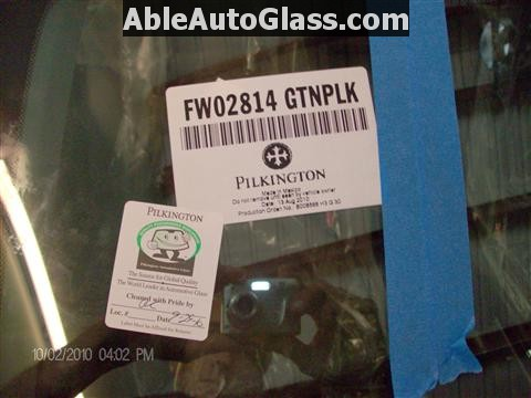 Honda Accord 2010 Front Windshield Replacement - FW02814GBN Made in Mexico