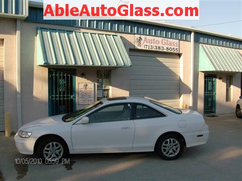 Honda Accord Coupe 2002 Windshield Replacement - Ready for Delivery