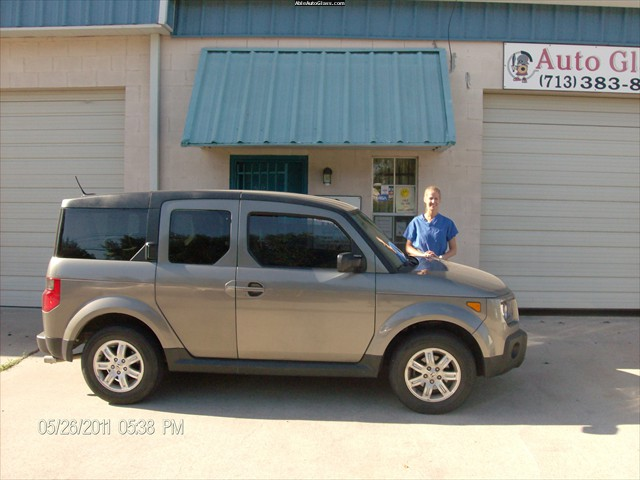Honda Element 2008 - Windshield Repair - Katy Hanzelka