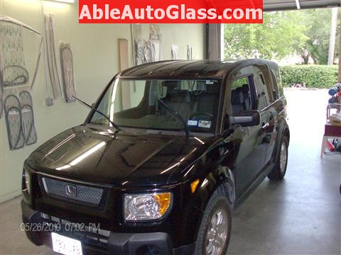 Honda Element 2010 Windshield Replace - All Back Together