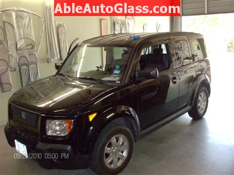 Honda Element 2010 Windshield Replace - Arrived at Shop