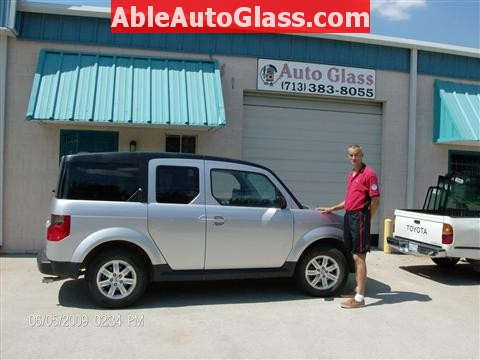 Honda Element 2010 Windshield Replace - Replaced Ready for Delivery