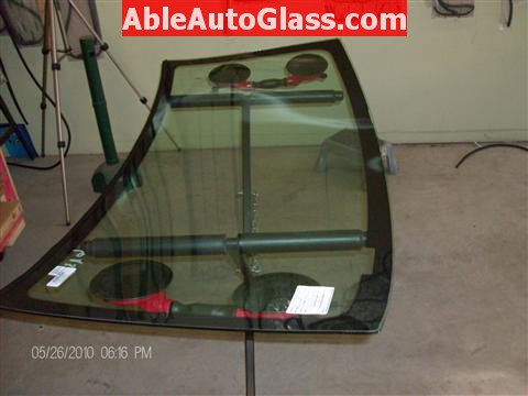 Honda Element 2010 Windshield Replace - Windshield Ready for Installation