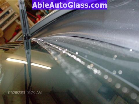 Honda Pilot 2003-2008 Windshield Replace - Warping is Normal