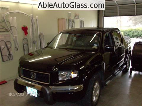 Honda Ridgeline Windshield Replace - All Back Together