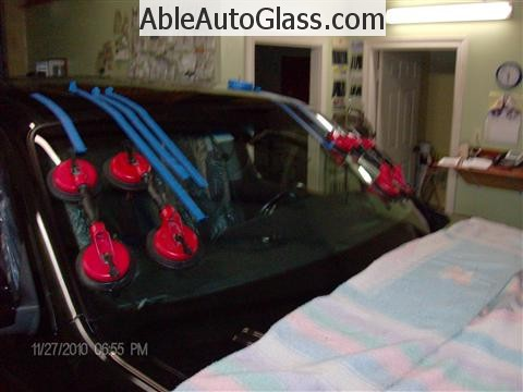Honda Ridgeline Windshield Replace - Auto Glass Installed
