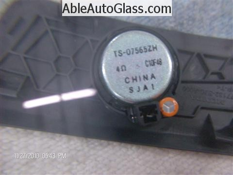 Honda Ridgeline Windshield Replace - Honda Speaker Made in China