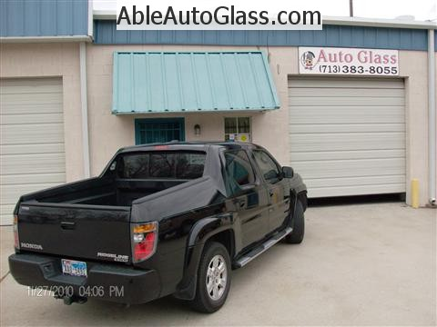 Honda Ridgeline Windshield Replace - Ready for Delivery