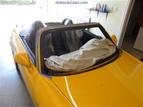 Honda S2000 2009 Windshield Replaced (27)