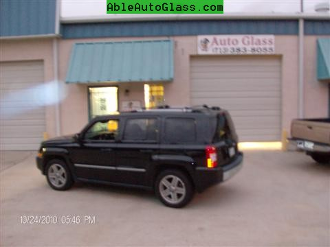 Jeep Patriot 2007-2011 Windshield - Replacement - Ready For Delivery - Day View at Night