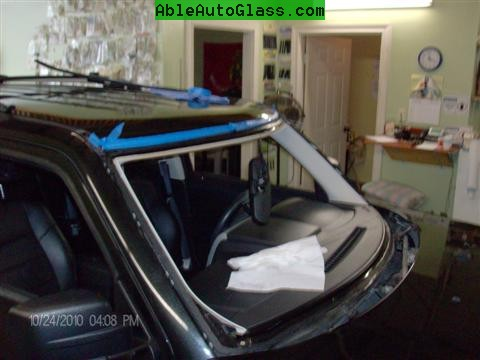 Jeep Patriot 2007-2011 Windshield - Replacement - Windshield Removed (Custom)