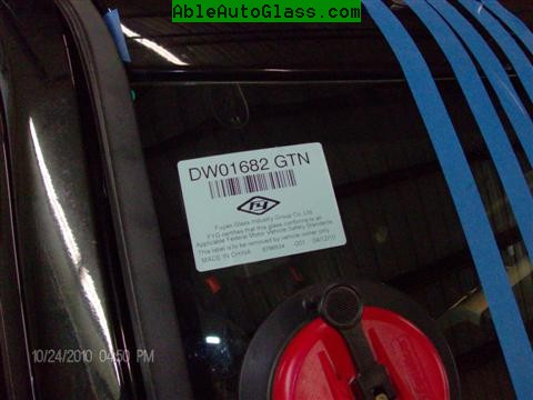 Jeep Patriot 2007-2011 Windshield Replacement - DW01682GTN  Customer Requested - Brand FY