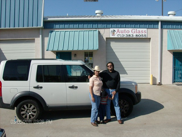 Landcrusier LR3 2005 Windshield Replacement Erica Kasundra