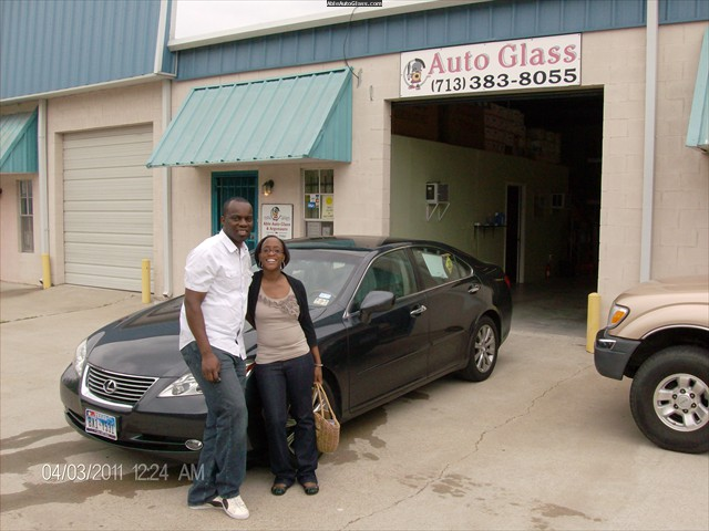 Lexus ES 350 2007 Windshield Replaced with Stephen and Terry Faleye- Back