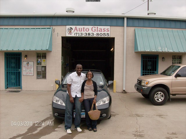 Lexus ES 350 2007 Windshield Replaced with Stephen and Terry Faleye - Front