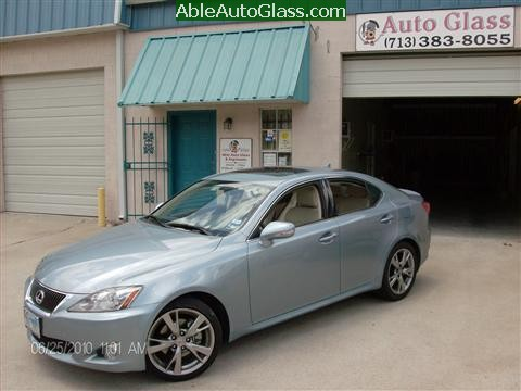Lexus IS250 2010 Windshield Replacement - Ready for Delivery