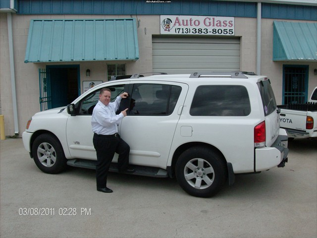 Nissan Armada 2007 Rear Left Door Glass Replacement - George Huntoon