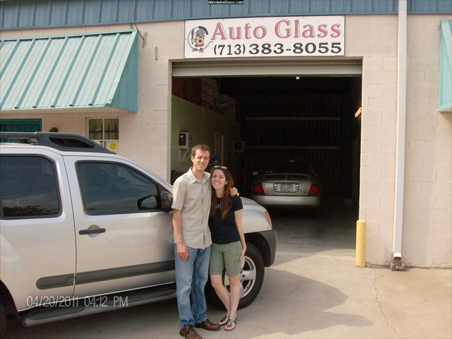 Nissan Sentra 2005 Windshield Replacement - Mr and Mrs Kneeland