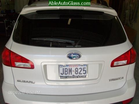 Subaru Tribeca 2008-2011 Windshield Replacement - Rear View
