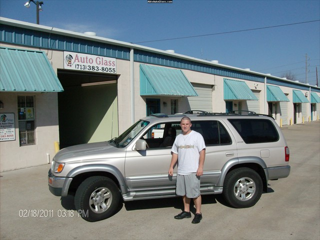 Toyota 4Runner 1998 Windshield Replacement Jordon C. Brewster