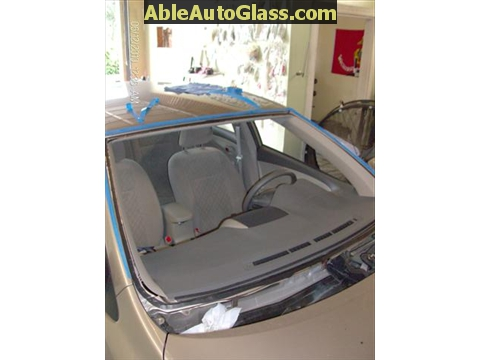 Toyota Corolla 2009-2011 Acoustic Windshield - all trimmed