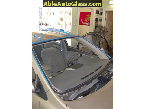 Toyota Corolla 2009-2011 Acoustic Windshield - auto glass removed