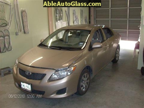 Toyota Corolla 2009-2011 Acoustic Windshield - ready to replace