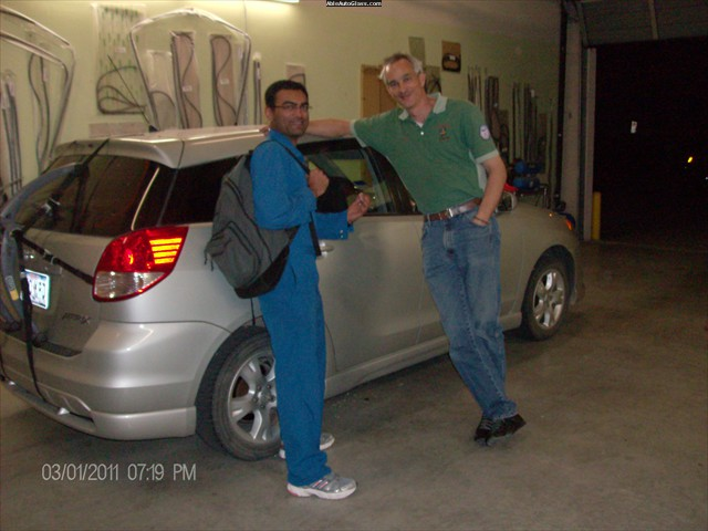 Toyota Matrix 2007 Hatchback Rear Right Door Glass Replacement -  Dough Dakshesh Patel