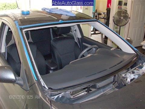 Toyota Matrix Windshield Replaced 2009-2011 - front view